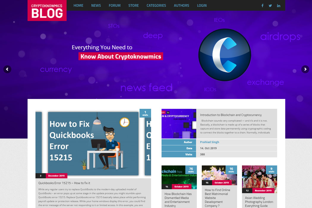 cryptoknowmics Blog