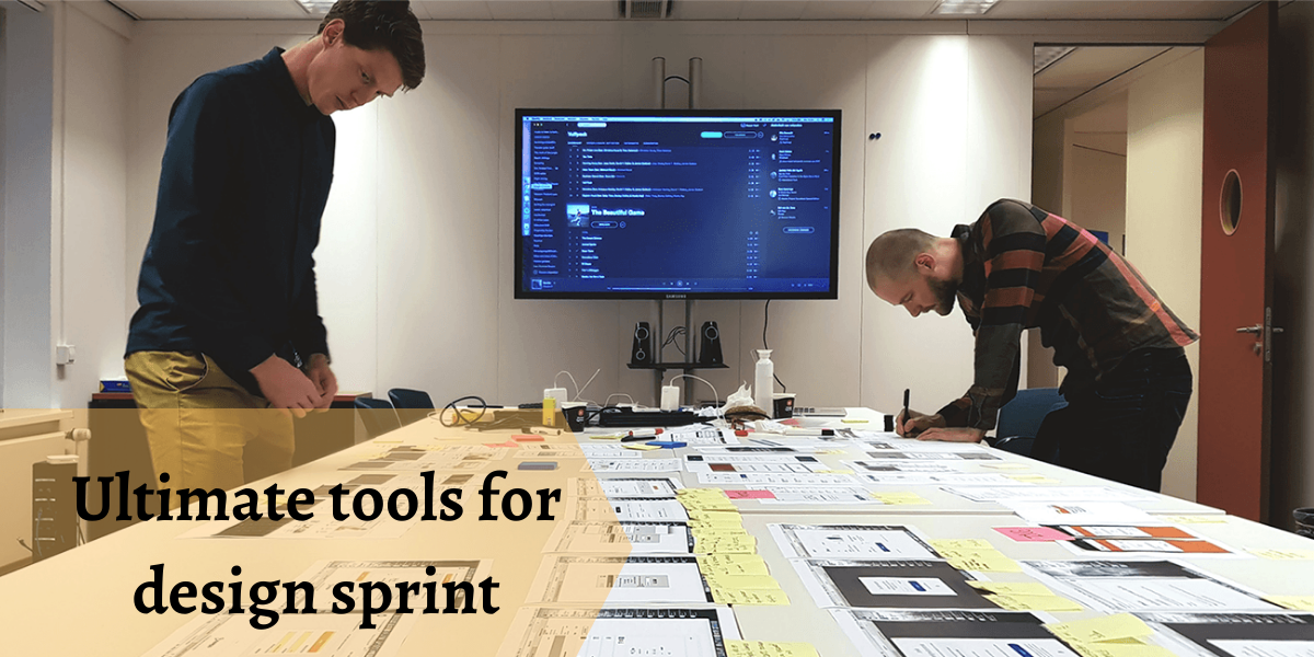 tools for design sprint