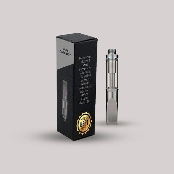 custom vape cartridge packaging