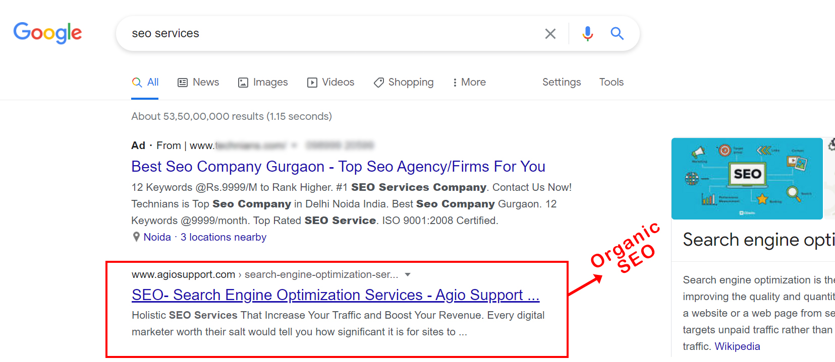 types of digital marketing - SEO (Search Engine Optimization)