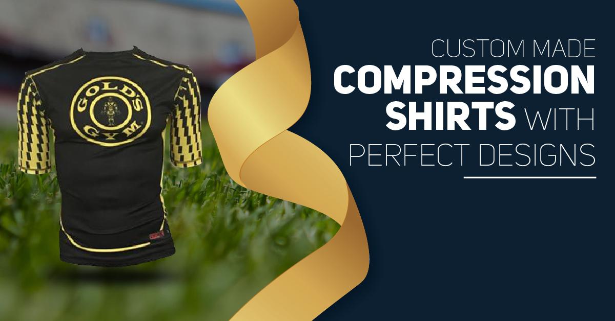 custom made compression shirts