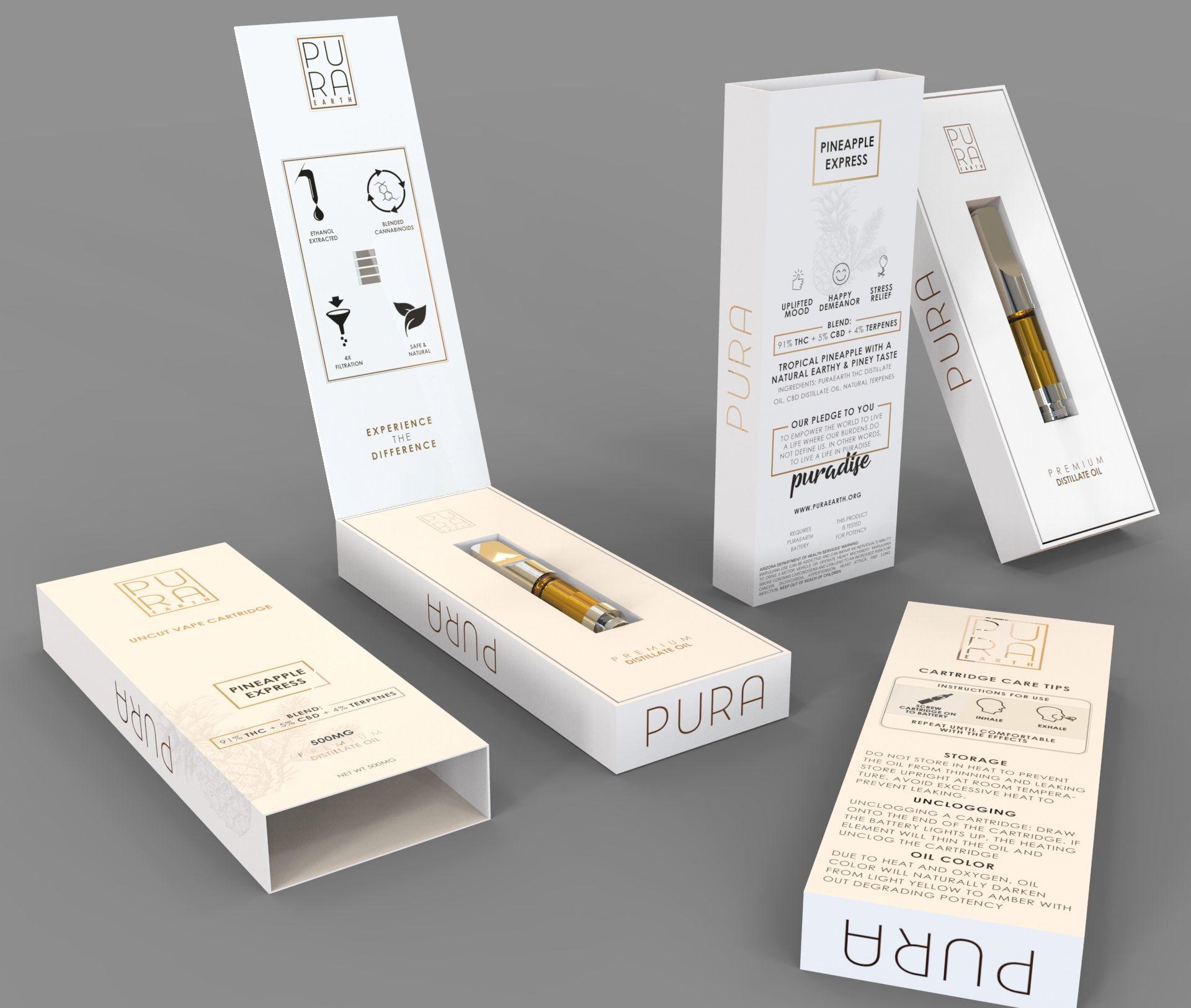 vape kit packaging