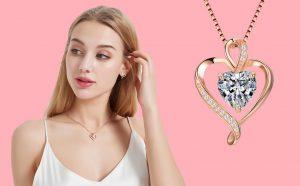 diamond embedded pendants
