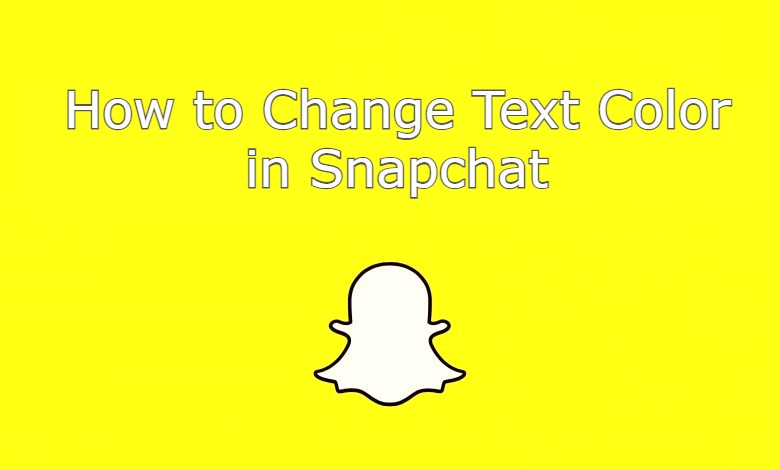 change text color in snapchat